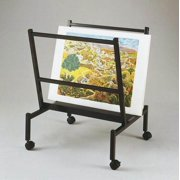 "Heritage Arts Small 26"" Wide Poster & Print Rack"
