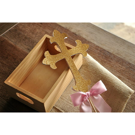 Ny Yankees Case (Christening Decorations. Ships in 1-3 Business Days. Baptism Cross Cake Topper.)