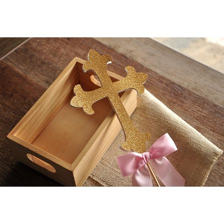 Christening Decorations. Ships in 1-3 Business Days. Baptism Cross Cake