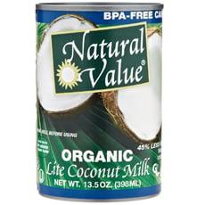 Natural Value Organic Coconut Milk Lite