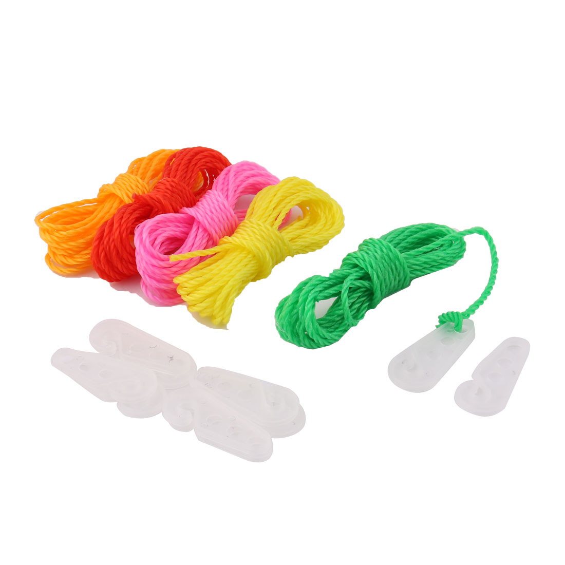 Apartment Home Nylon Windproof Clothesline Clothes Hanging Rope String Line 5pcs