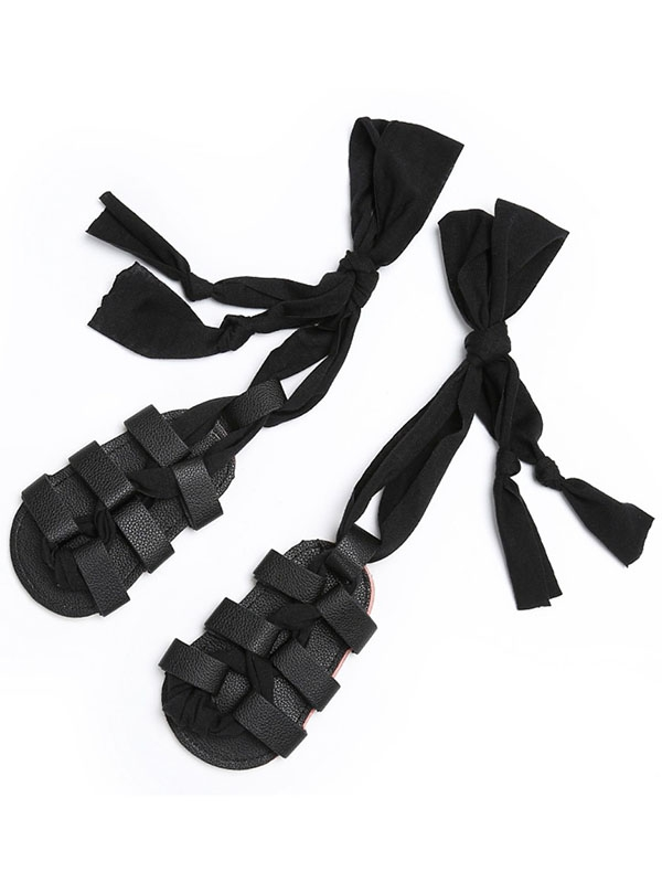 Lavaport Baby Girls Summer High-top Roman Girls High Gladiator Sandals