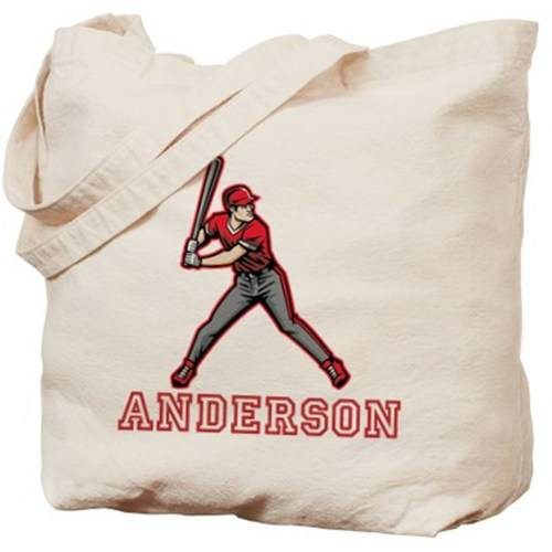 Cafepress Personalized Baseball Tote Bag
