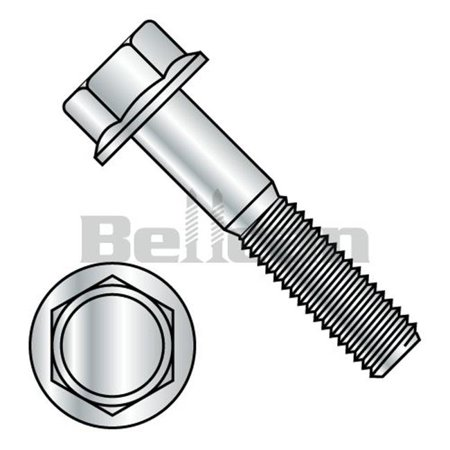 Shorpioen M610BF8 M6-1.0 x 10 Rohs DIN 6921 Class 8.8 Metric Flange Bolt Screw - Zinc - Box of 1000 - image 1 de 1