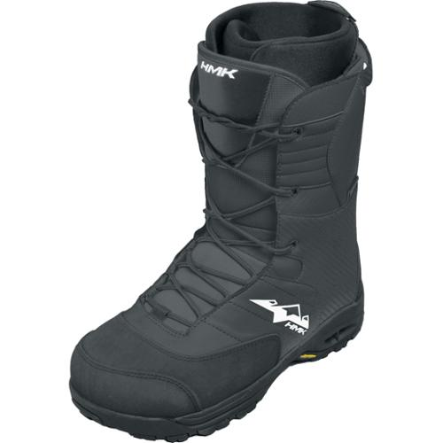 HMK Lace Snow Boots Black