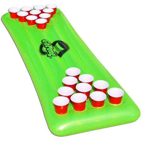 GoPong Pool Pong Table, Inflatable Floating Beer Pong Table, Includes 3 Pong Balls (Beer Pong Cup Costume)