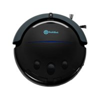 Refurbished Best in Class RolliTerra Robotic Vacuum Robot – Quiet, Deep-Cleaning Rollerbrush Filters Debris & Pet Hair, Includes Remote, Like New