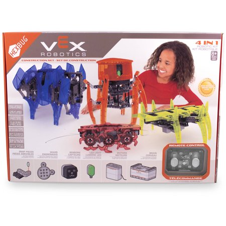 Vex 4 In 1 Robotics Kit By Hexbug  Build 1 At A Time
