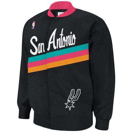 San Antonio Spurs Mitchell & Ness NBA Authentic 94-95 Warmup Premium Jacket by