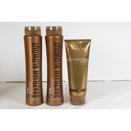 Brazilian Blowout Volume Shampoo, Conditoner &