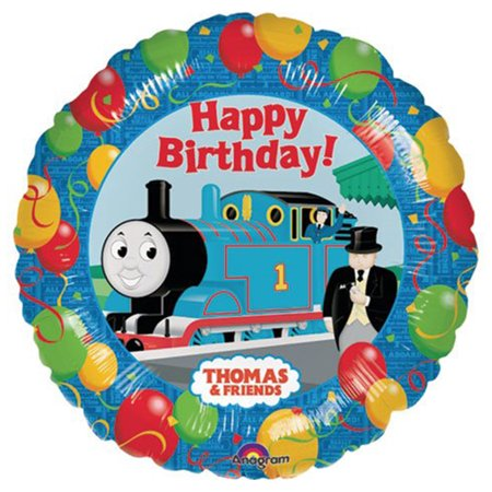Thomas and Friends Birthday Character Authentic licensed Theme Foil / Mylar Balloon 18
