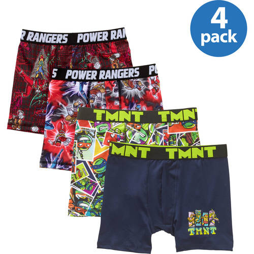 Boys' Character Boxer Briefs 4-Pack Your Choice Value Bundle