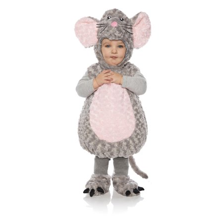 Unisex Soft Snuggly Adorable Toddler Gray Grey Mouse Rodent Halloween - Terraria Halloween Items