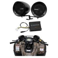 Memphis Audio ATV Audio System w/ Handlebar Speakers For Can-Am Renegade