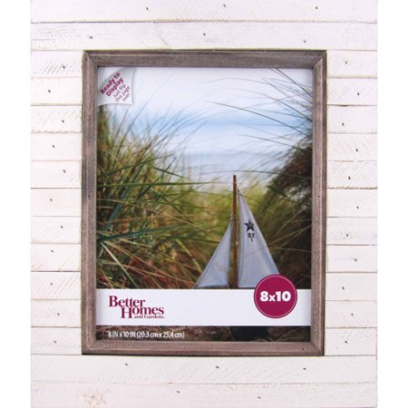 better homes and gardens oracoke 8x10 frame cream
