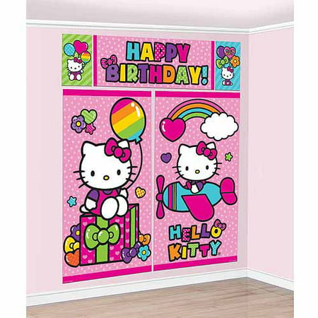 Hello Kitty Rainbow Scene Setters Kit