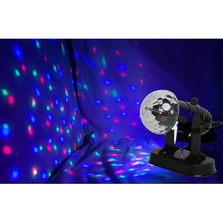 Projector Battery-Operated Crystal Spot Light, Event, Party, Fun, Mood Setting, Wedding. Roomful of Lights, Product Size: 7.28 x 5.31 x 2.95. Kids' room. Halloween, Holiday, Event
