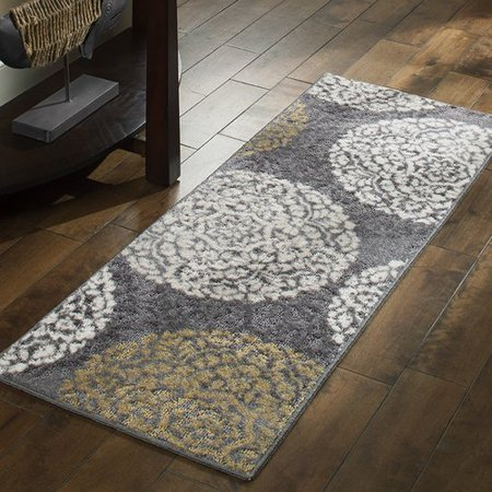 Better Homes And Gardens Overlapping Medallion Runner Rug Walmart Com