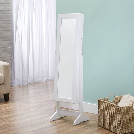 FirsTime & Co. Cheval Free Standing Jewelry Armoire, Multiple Colors (Freestanding Cheval Mirror)