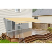 ALEKO 13'x10' Motorized Retractable Patio Awning, Multiple Colors