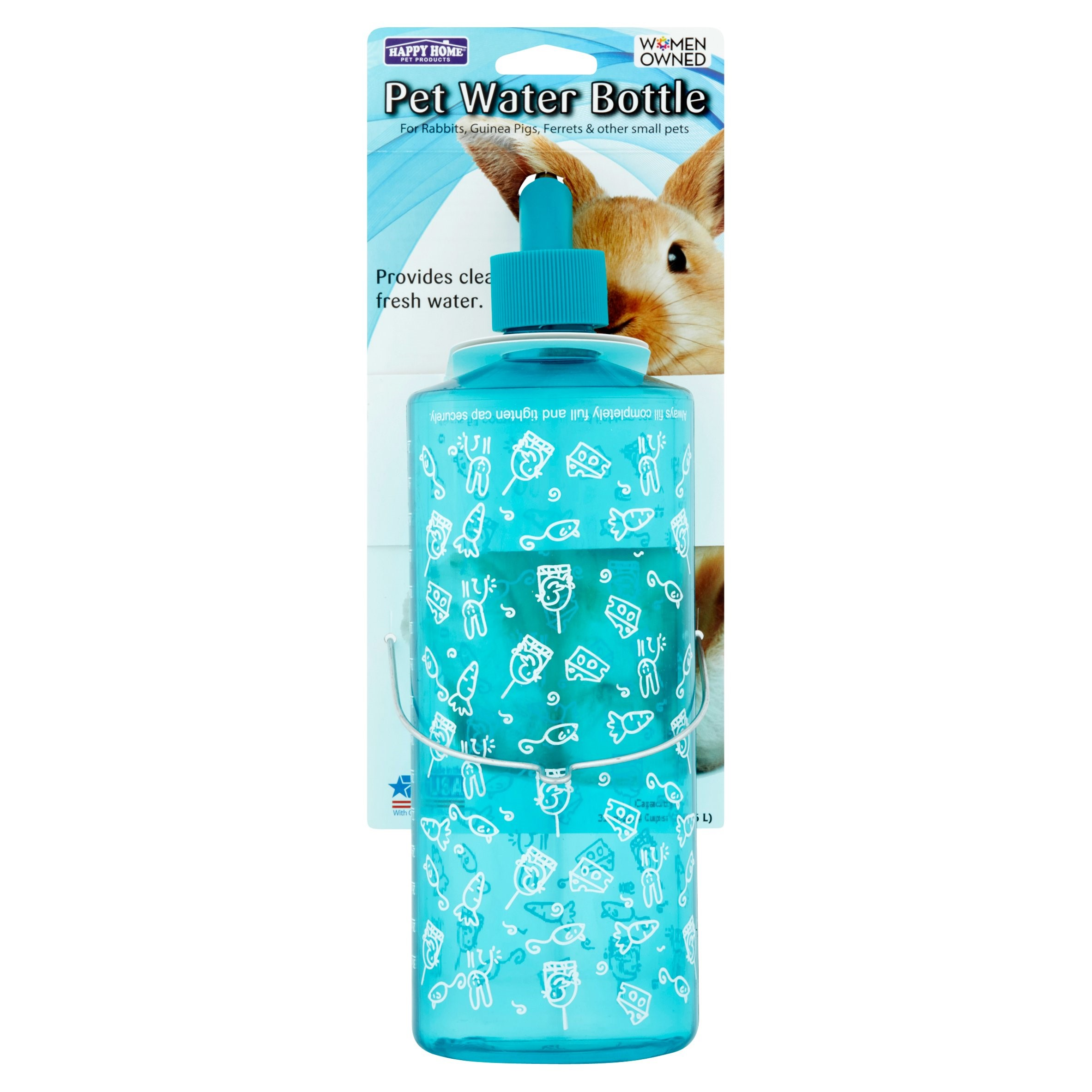 Happy Home Pet Products Water Bottle For Small Animals - Walmart com