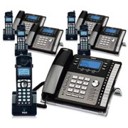 RCA ViSYS 25424RE1 & H5401RE1 (5-Pack) GE / RCA Cordless / Corded Phone System