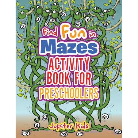 Find Fun in Mazes Activity Book for Preschoolers (Science Activities For Preschoolers About Halloween)