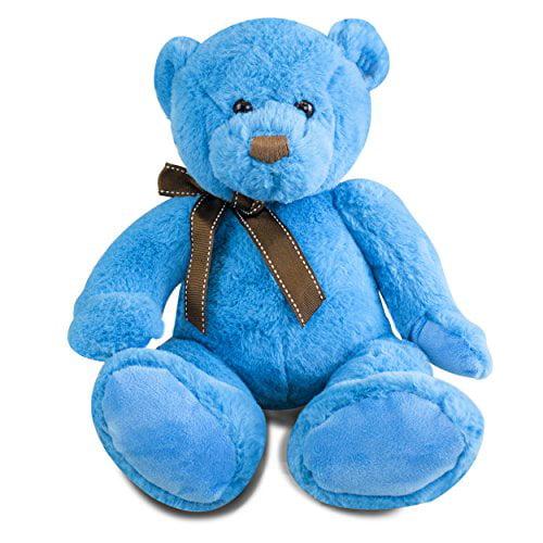 Gitzy 12 inch Sitting Blue Bear