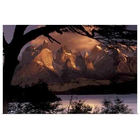 Great BIG Canvas | Rolled Art Wolfe Poster Print entitled Chile, Torres Del Paine National Park ()