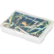 "IRIS USA 4"" x 6"" Photo and Embellishment Craft Case, Clear"