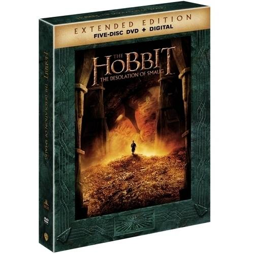 The Hobbit: The Desolation Of Smaug (Extended Edition) (Walmart Exclusive) (DVD + Digital Copy With