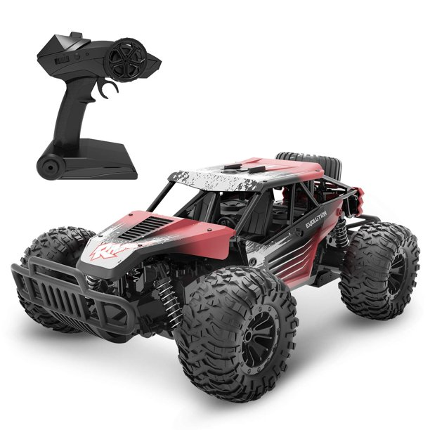 Deerc De37 Rc Cars For Kids Remote Control Rc Car 1 16 Scale High Speed Rc