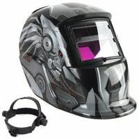 Welding Helmet, /AUGIENB Solar Powered Welding Helmet Auto Darkening Hood with Adjustable Shade Range 4/9-13 for MIG TIG ARC Professional Welder Mask