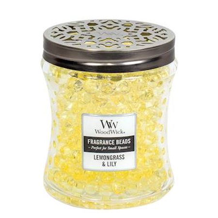LEMONGRASS LILY WoodWick Fragrance Beads Room Diffuser