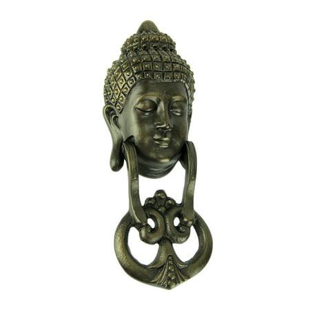 Antique Bronze Metal Buddha Head Door Knocker