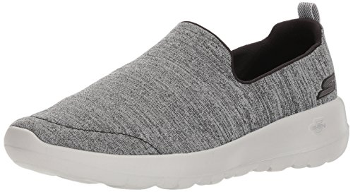 Skechers Performance Women's Go Walk Joy-15611 Sneaker,Black/Gray,10 M US