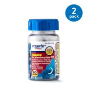 Equate Extra Strength Acetaminophen PM Rapid Release Gel Caps, 500 mg, 80 Count