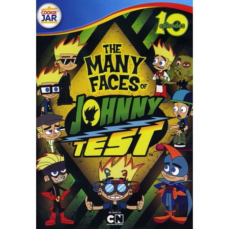 The Many Faces of Johnny Test (DVD)](Johnny Test Halloween)