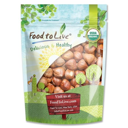 - Food To Live Organic Hazelnuts / Filberts (Raw, No Shell) (2 Pounds)