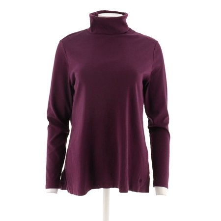 Isaac Mizrahi Essentials Pima Cotton Turtleneck A296830