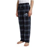Men's Navy/Black Los Angeles Rams Ballot Flannel Lounge Pants