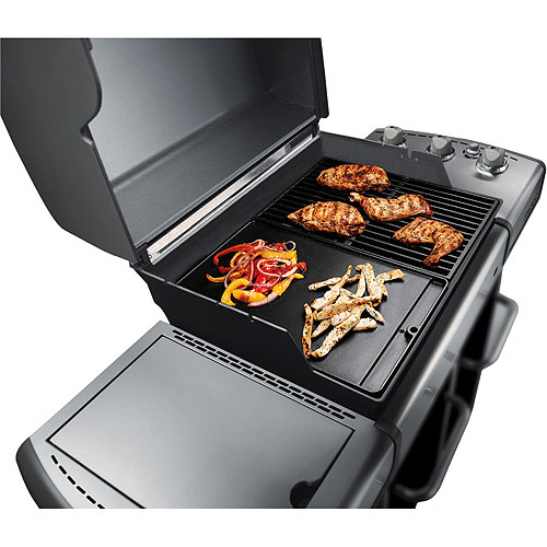 "Weber Genesis 300 Series Two Sided Cast Iron Coated ""GRIDDLE""  7532"