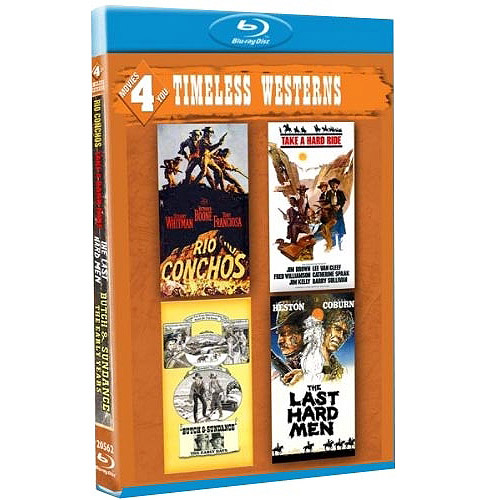 Movies 4 You: Timeless Westerns - Butch & Sundance: The Early Days / The Last Hard Men / Rio Conchos / Take A Hard Ride (Blu-ray) (Widescreen)