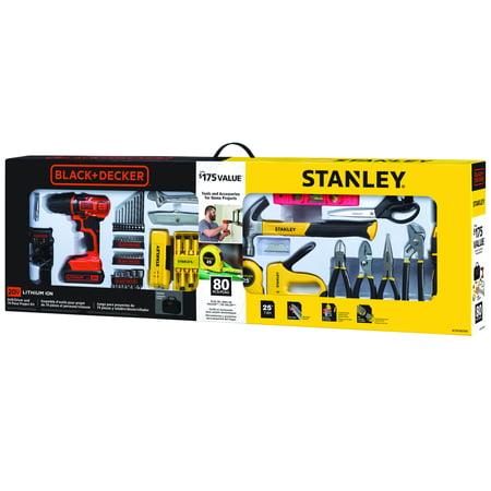STANLEY BLACK & DECKER BCPKSBD99CWM 20V 79pc Home Project Kit