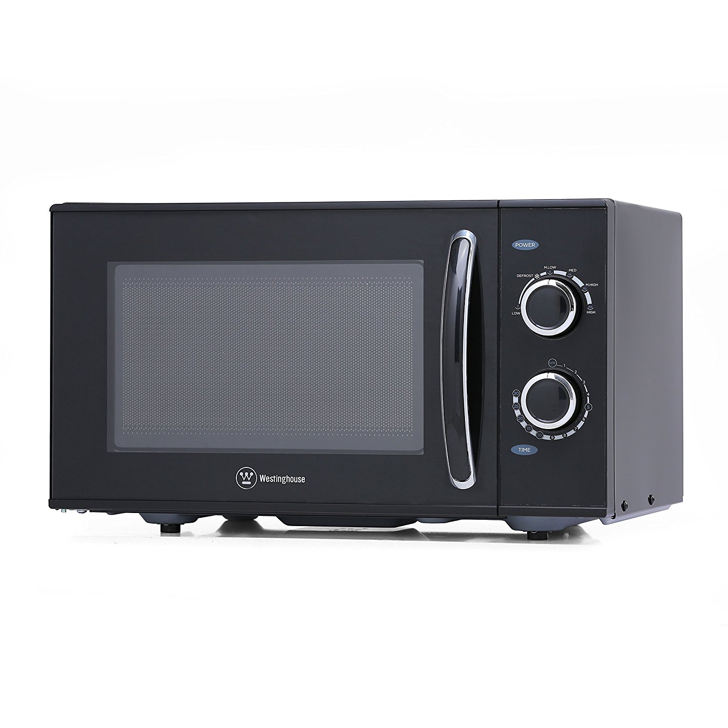 Counter Top Rotary Microwave Oven, 0.9 Cubic Feet, Black