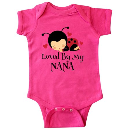 Loved By My Nana Grandchild Infant Creeper