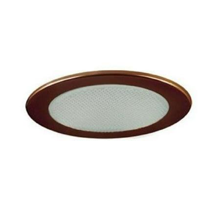 Low Voltage Shower Trim with Albalite Glass, Antique Bronze