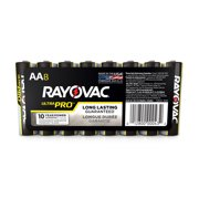 Rayovac UltraPro Alkaline, AA Batteries, 8 Count