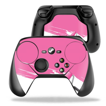 Skin Decal Wrap For Valve Steam Controller Pink Paint Roller