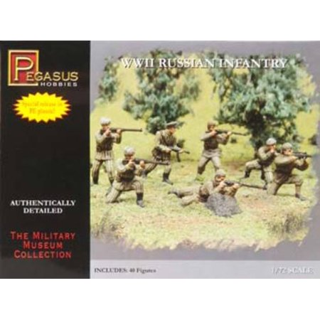 Wwii Gliders (7498 1/72 WWII Russian Infantry)